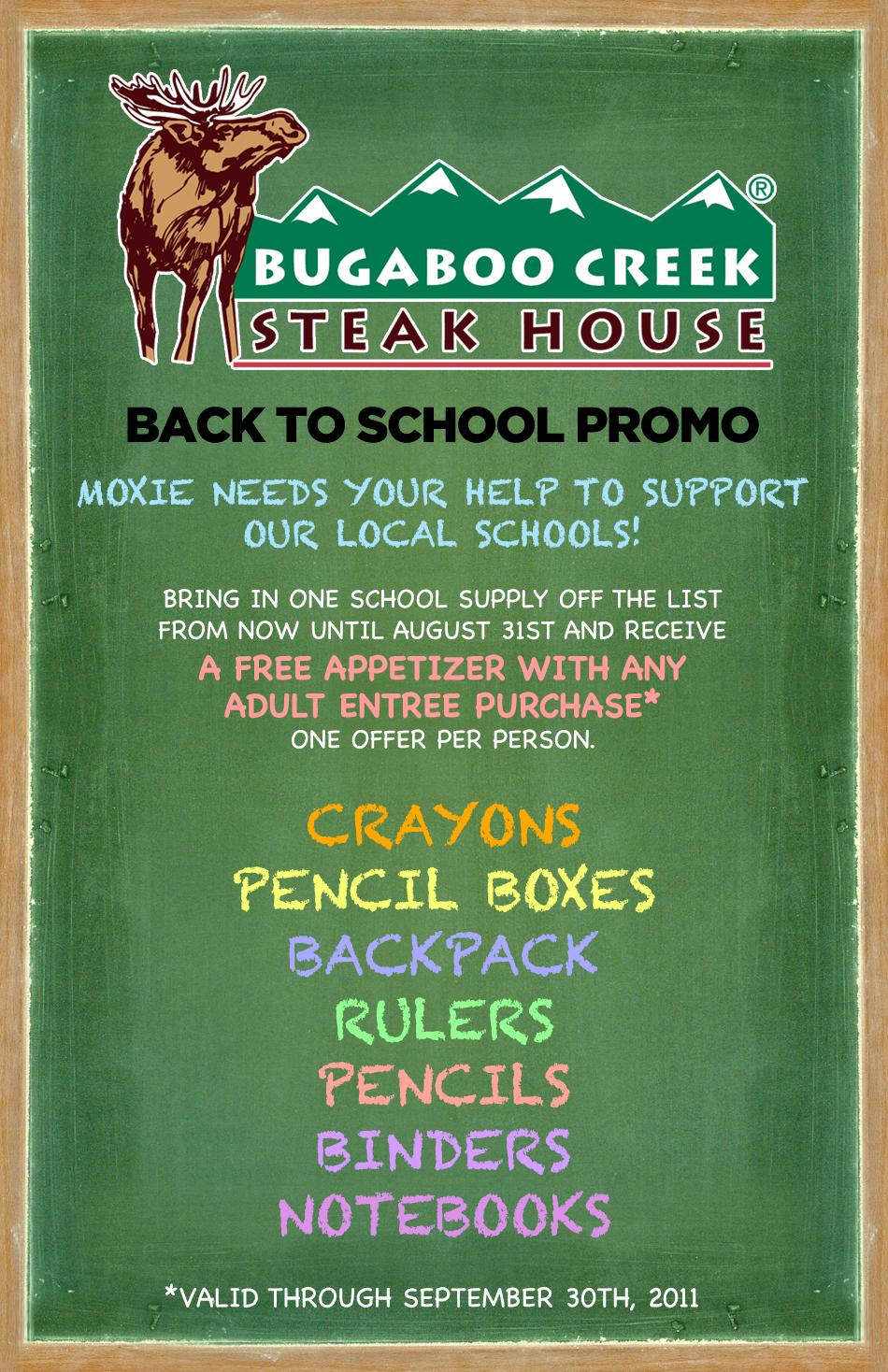coupons bugaboo creek